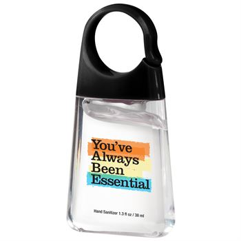 You've Always Been Essential Hand Sanitizer With Carabiner Clip