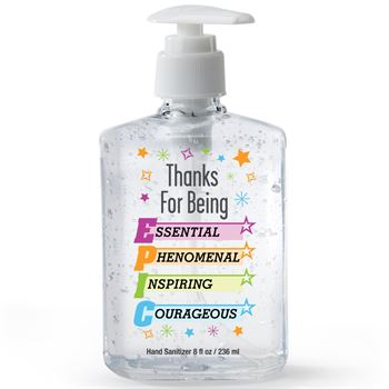 Thanks For Being EPIC�8-Oz. Sanitizer Gel Pump