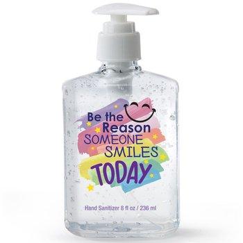 Be The Reason Someone Smiles Today 8-Oz. Sanitizer Gel Pump
