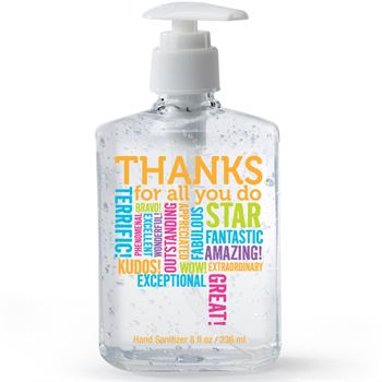 Thanks For All You Do 8-oz. Hand Sanitizer