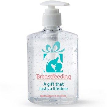 Breastfeeding: A Gift That Lasts A Lifetime 8-Oz. Sanitizer Gel Pump