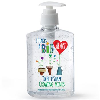 It Takes A Big Heart To Help Growing Minds 8-oz. Hand Sanitizer