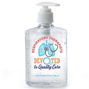 Respiratory Therapists: Dev02ted To Quality Care Hand Sanitizer Gel Pump