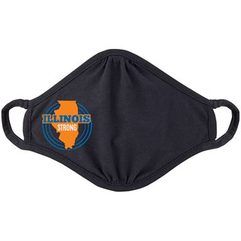 Illinois Strong 2-Ply 100% Cotton Face Mask
