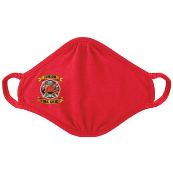 Junior Fire Chief 2-Ply Blended Youth Face Mask