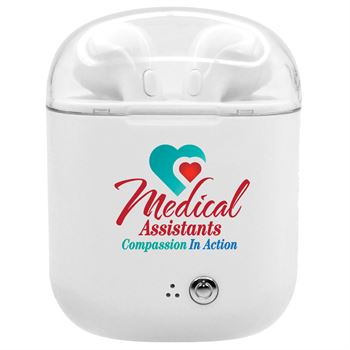 Medical Assistants: Compassion In Action Bluetooth® Earbuds In Charging Case