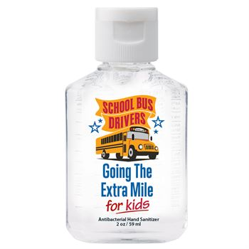 School Bus Drivers Go The Extra Mile For Kids 2-Oz. Hand Sanitizer