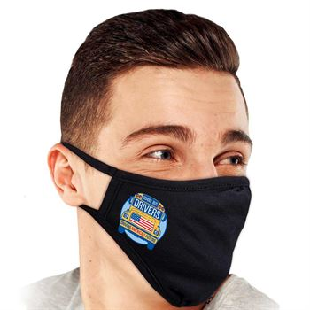 School Bus Drivers: Driving America's Future 2-Ply 100% Cotton Face Mask