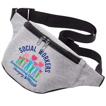 Social Workers: Empowering Others, Changing Lives Madison Waist Pack