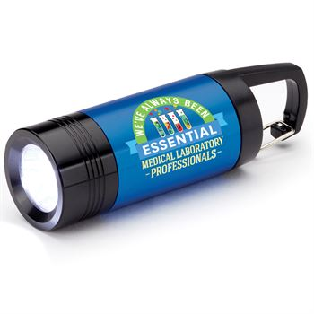 Medical Laboratory Professionals: We've Always Been Essential Ridgewood LED Carabiner Flashlight