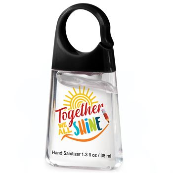 Together We All Shine Hand Sanitizer With Carabiner Clip