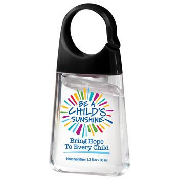 Be A Child's Sunshine Bring Hope To Every Child Hand Sanitizer With Carabiner Clip