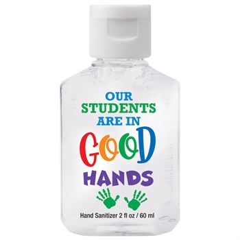Our Students Are In Good Hands - 2-Oz. Hand Sanitizer Gel