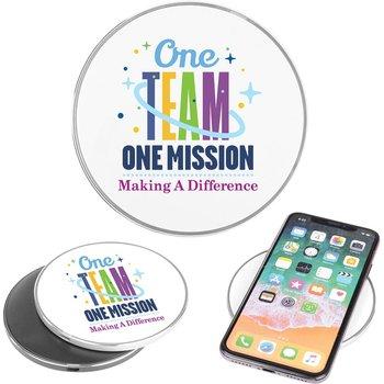One Team One Mission Qi 10W Charging Pad