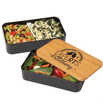 Respiratory Therapists: ExpeRTs In Breathing Eco-Friendly 2-Tier Wheat Fiber & Bamboo Bento Box