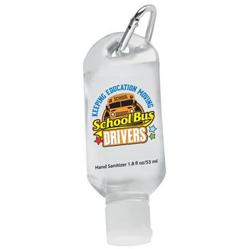 School Bus Drivers: Keeping Education Moving Hand Sanitizer With Carabiner Clip