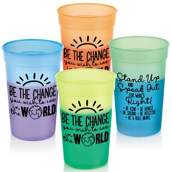 Be The Change You Wish To See In The World Assorted Mood Cups - Pack of 10