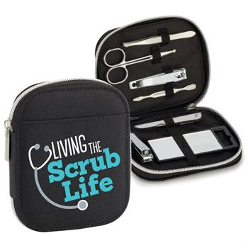 Living The Scrub Life 7-Piece Personal Care Kit