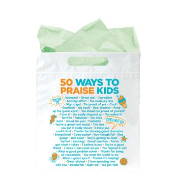 50 Ways To Praise Kids Goody Bag