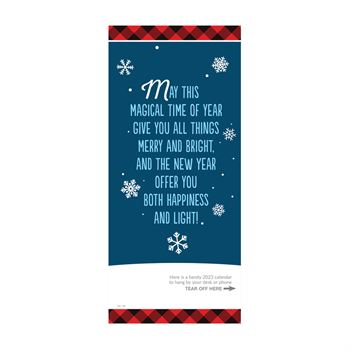 Happy Holidays We're Here All Year for You 2016 Greeting Card Calendar