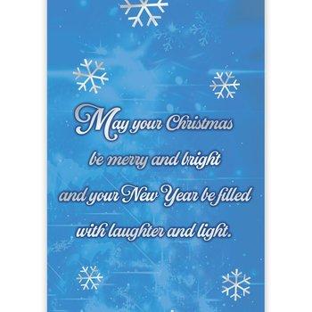 Merry Christmas 2016 Holdiay Greeting Card Calendar