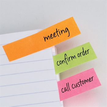 Customer Service Making A Difference, Every Day, Every Call - Burst® Sticky Note Jotter