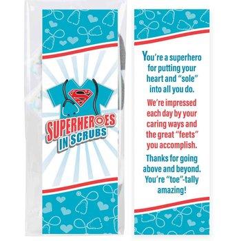 Superheroes In Scrubs Women's Cushioned Socks
