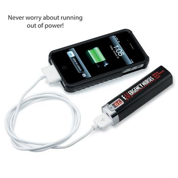 EMERGENCY NURSES Making Every Second Count - Metal Power Bank With Digital Power Display
