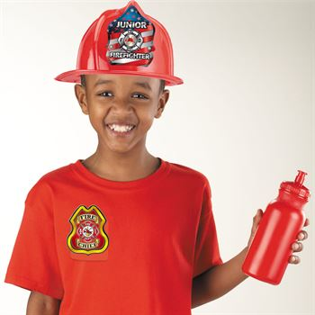 Junior Fire Chief Plastic Badge