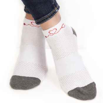 If You Can Read This... This Nurse Is Off Duty Women's Cushioned Ankle Socks