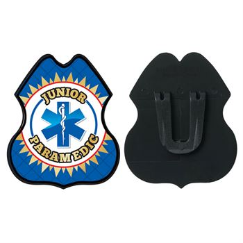 Junior Paramedic Plastic Badge