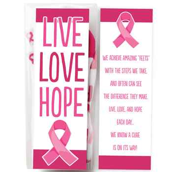 Live, Love, Hope Women's Cushioned Ankle Socks