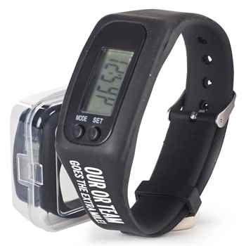 Emergency Nurses Go The Extra Mile! Fitness Watch Pedometer