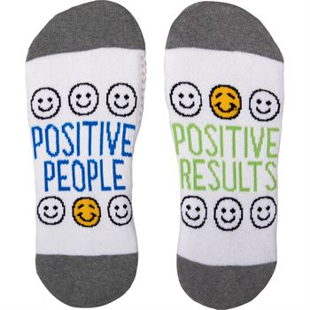 Positive People, Positive Results Toe-tally Awesome Socks