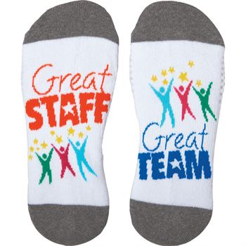 Great Staff, Great Team Toe-tally Awesome Socks