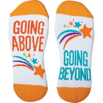 Going Above, Going Beyond Toe-tally Awesome Socks