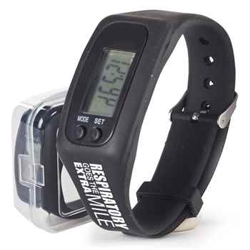Respiratory Goes The Extra Mile Fitness Watch Pedometer