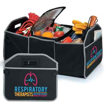 Respiratory Therapists: Making Every Breath Count 2-In-1 Trunk Organizer & Cooler