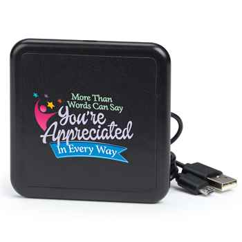 More Than Words Can Say You're Appreciated In Every Way Wireless Phone Charging Pad