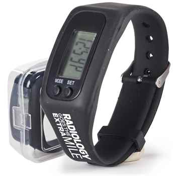 Radiology Goes The Extra Mile! Fitness Watch Pedometer