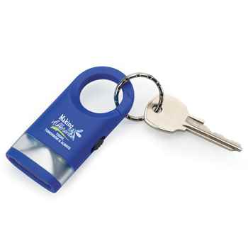 Making A Difference Today, Tomorrow & Always LED Carabiner Flashlight