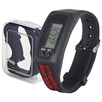 Get Pumped About Heart Health Fitness Watch Pedometer