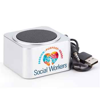 Social Workers: Passion, Purpose, Heart Bluetooth® Speaker