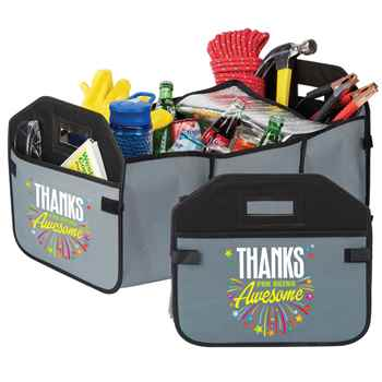 Thanks For Being Awesome 2-in-1 Trunk Organizer & Cooler