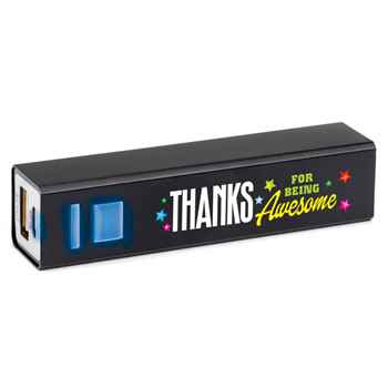 Thanks For Being Awesome Metal Power Bank