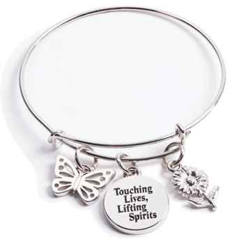 Touching Lives, Lifting Spirits Charm Bracelet