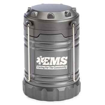 EMS: Caring For The Community Indoor/Outdoor Retractable LED Lantern with Magnetic Base