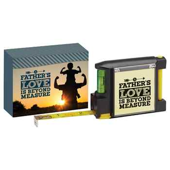 A Father's Love Is Beyond Measure Deluxe Tape Measure With Gift Box