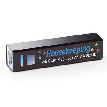 Housekeeping: We Clean It Like We Mean It! UL® Metal Power Bank