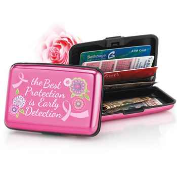The Best Protection Is Early Detection Identity Guard Aluminum Wallet
